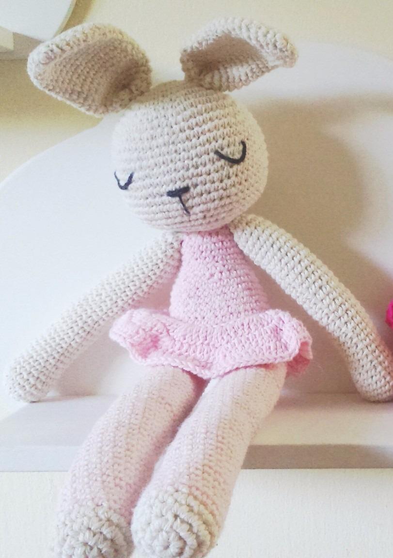 Coneja - Conejo - Crochet Patalarga- Amigorumi - Juguetes - $ 450,00 ...