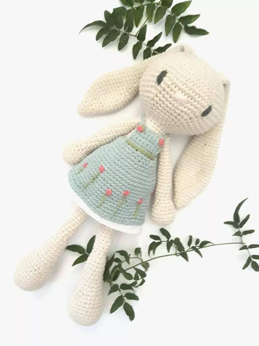 Único Crochet Patrón De Conejito Imagen - Coser Ideas Para Vender ...