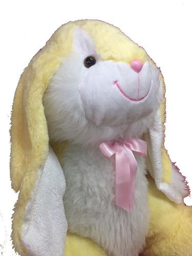 coneja gigante 1,6 mts rosa + corazón + envio.