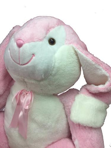 coneja gigante 1,68 mts rosa + corazón + envio.