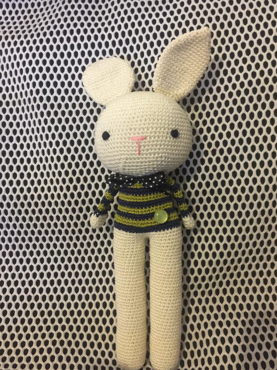Conejito Amigurumi Tejido Crochet - $ 15.500 en Mercado Libre