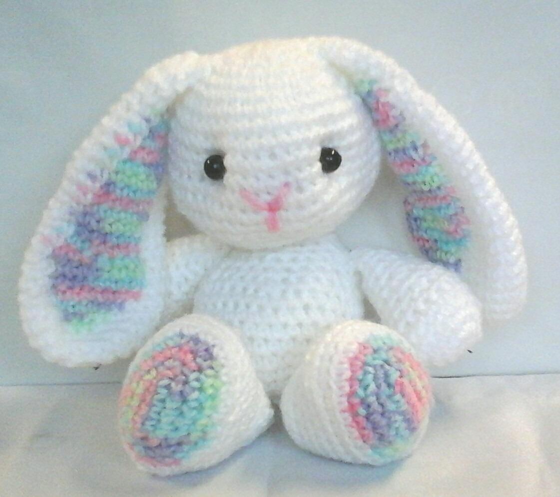 Conejo Amigurumi Tejido Al Crochet 25 Cm De Altura - $ 400,00 en ...