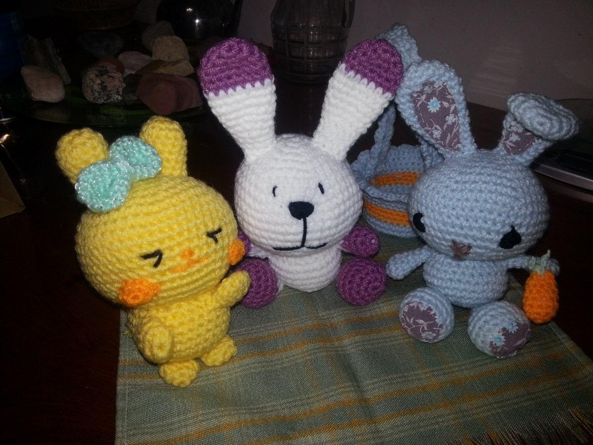 Amigurumis Conejos Paso A Paso : Patrón conejo amigurumipatrón conejo crochet rabbit