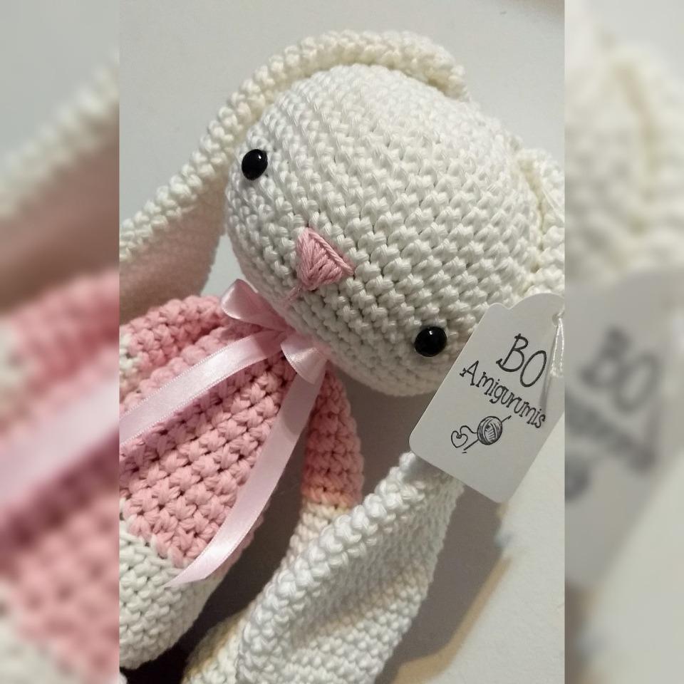 CANAL CROCHET: Conejo amigurumi tutorial | 960x960