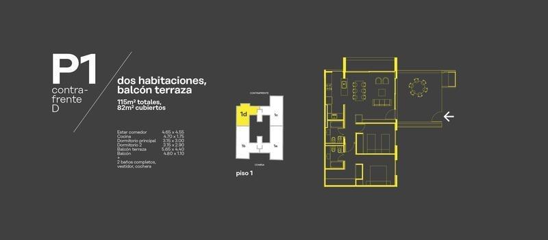 conesa 3029 - casas urbanas - ph 3 amb c/balcon y terraza propia c/parrilla