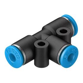 Conexão Pneumática Engate Rápido Tipo T Festo 4mm (qsmt)
