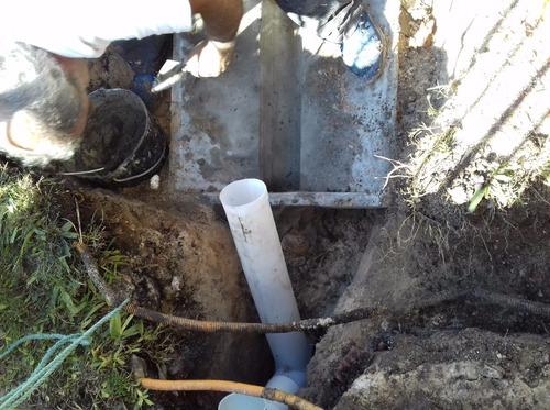 conexión a saneamiento