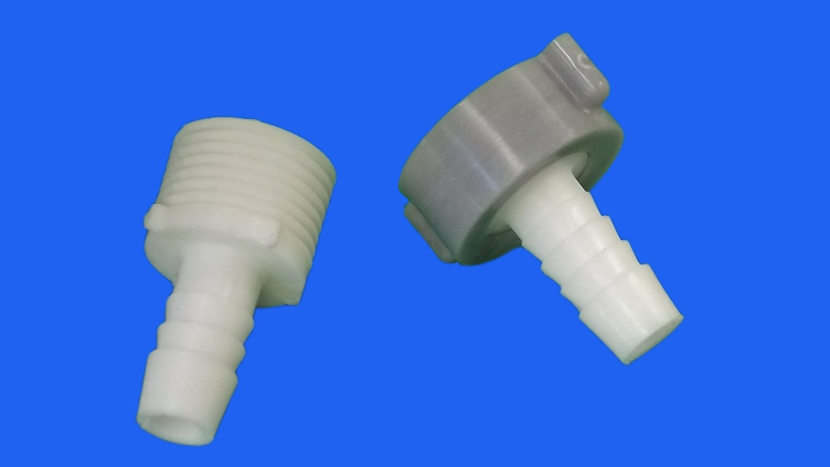 Conexion de llave para manguera hembra de plastico de 1 2 for Manguera de jardin 1 2
