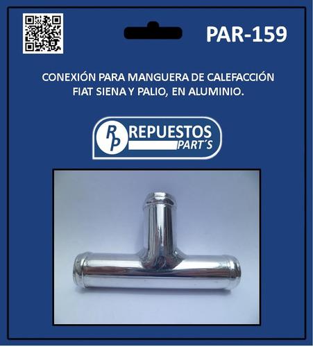 conexión para manguera de calefacción fiat siena y palio