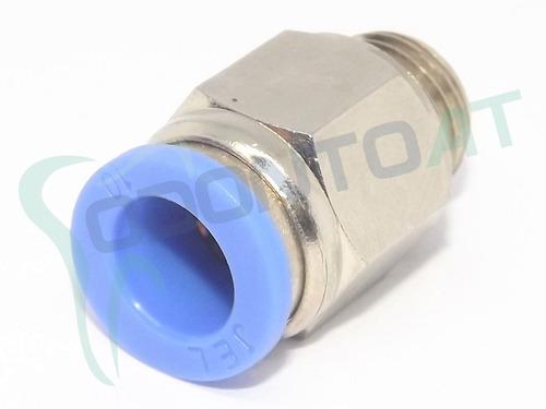 conexão reta engate rápido 1/4 bsp mangueira tubo 10 mm