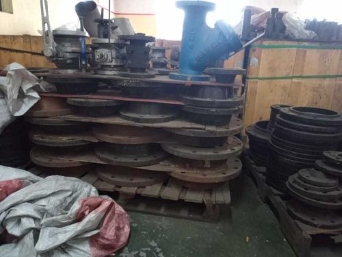 conexões e válvulas e inox e aço carbono material novo