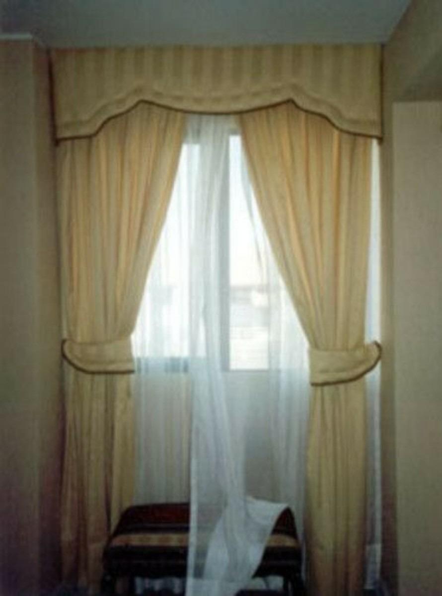 Confecci n de cortinas en mercado libre for Ganchos para cortinas de tela