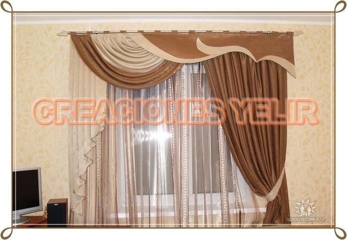Confeccion de cortinas y cenefas bs en for Precio de cortinas