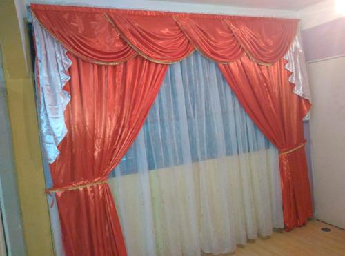 confeccion de cortinas y cenefas