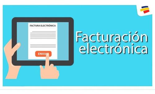 confección de facturas electrónicas