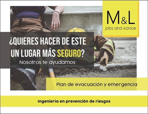 confección de plan de evacuación y emergencias