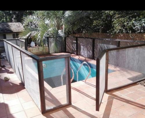 confección e instalación de cercos de seguridad en piscinas