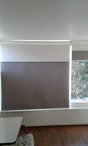 confección , instalación y mantención de cortinas roller