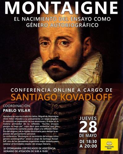 conferencia online montaigne