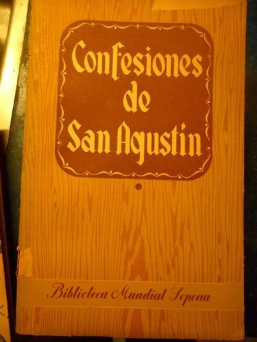 confesiones de san agustìn tomo 1 1942