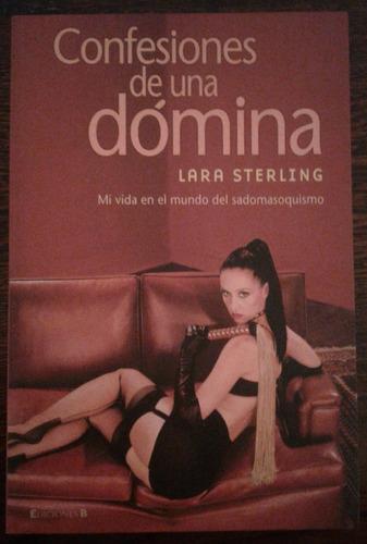 confesiones de una dómina, lara sterling, literatura erótica