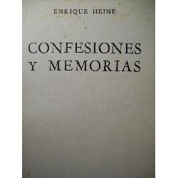confesiones y memorias de enrique heine editorial ayacucho