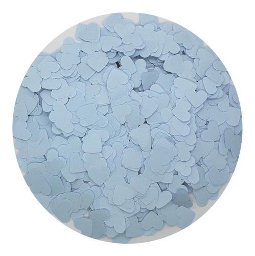 confeti corazones en papel craft por cantidad por mayor