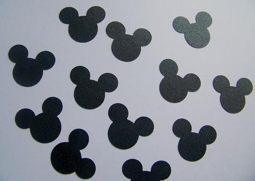 confetti minnie mickey souvenirs decoración x 100