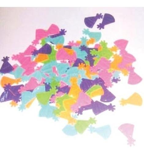confetty deco  bonete x6unidades cotillon - jupiter party