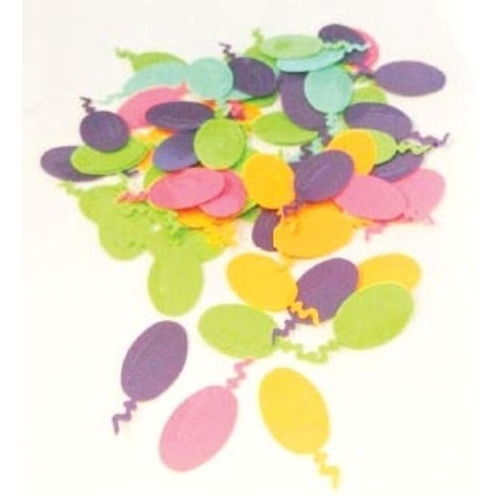 confetty decorativo globos cotillón - jupiter party