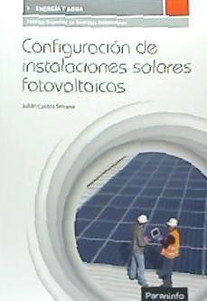 configuración de instalaciones solares fotovoltaicas(libro c