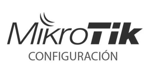 configuración router mikrotik - balanceo wan + failover