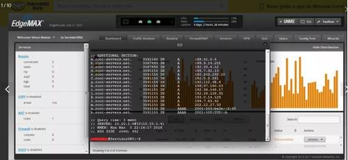 configuração servidor dns unbound na edgerouter.