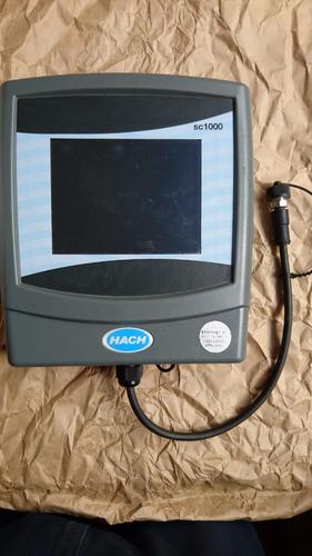 configurador hach, calidad agua sc1000 1325391