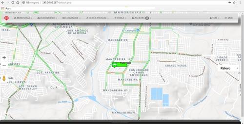 configurar plataforma para usar o rastreador online