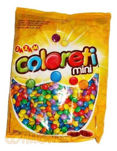 confite coloreti paquete 500 grs cotillon s a