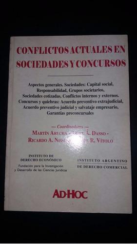 conflictos actuales en sociedades y concursos.  ( arecha)