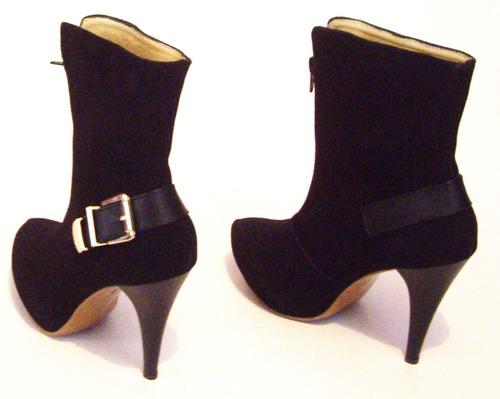 confort elegancia botin botas piel calzado dama moda actual