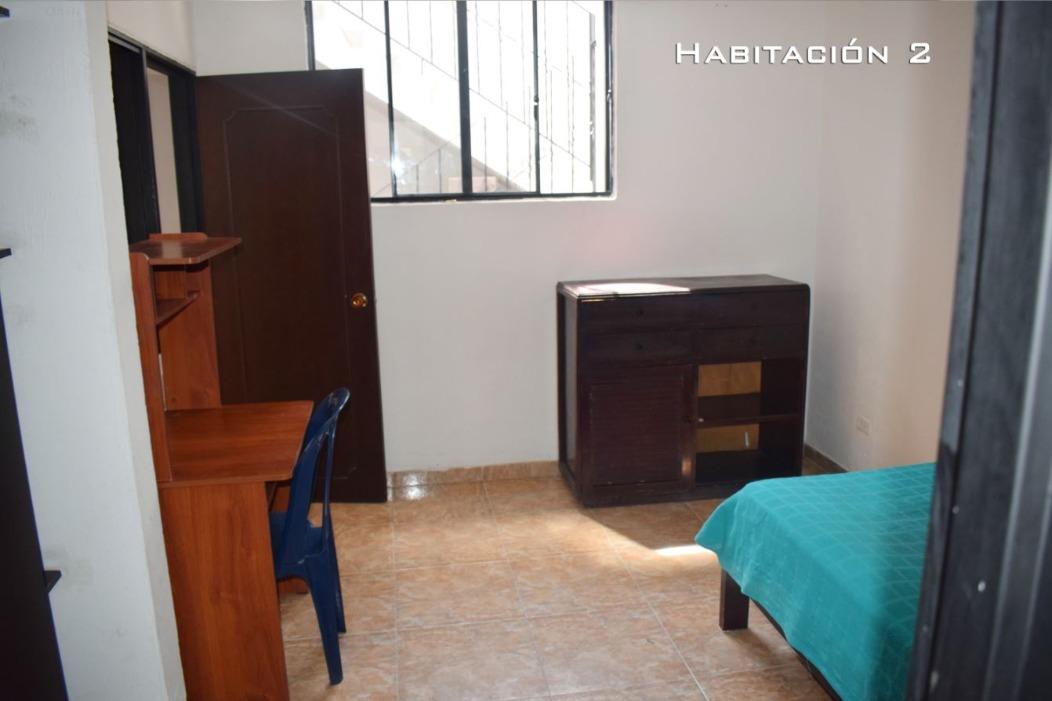 confortable habitación, todos los servicios, cocina, lavador