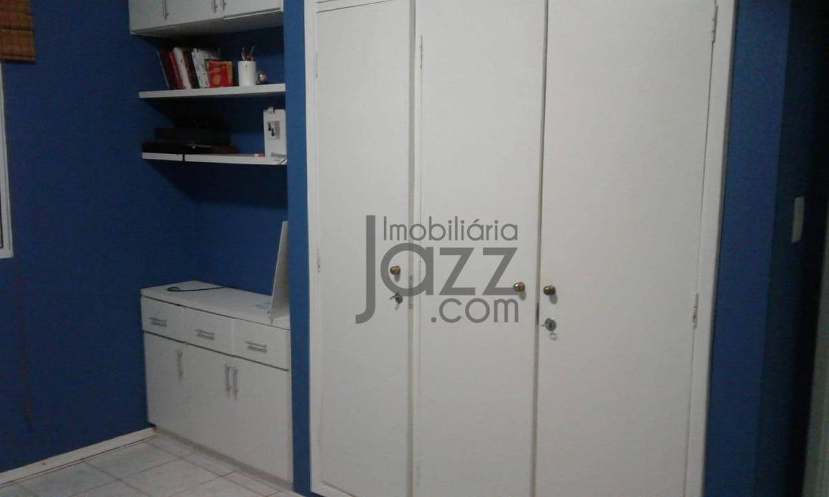 confortável e bem localizado apartamento com 1 dormitório à venda, 44 m² por r$ 198.900 - jardim chapadão - campinas/sp - ap2853