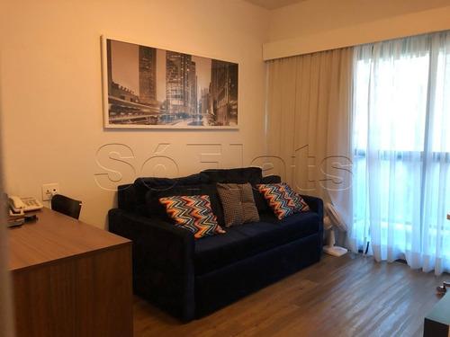 confortável elegante e a localização excelente, adagio itaim - sf26618