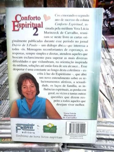 conforto espiritual 2 vera lucia marinzeck livro
