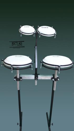 congas tumbadoras e bongo compactos