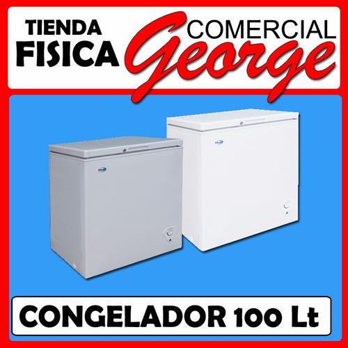 congelador 100 lts khaled comercial george