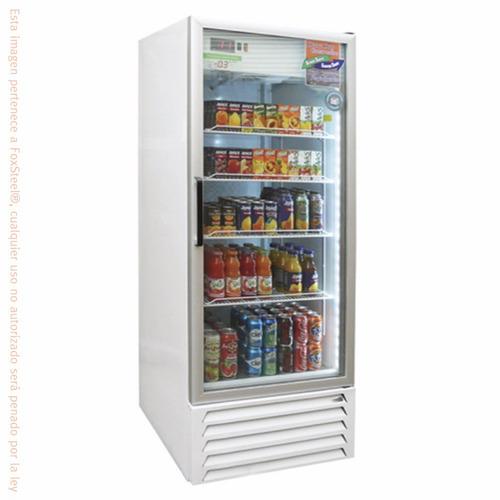 congelador comercial asber afmd-23 puerta cristal 23ft