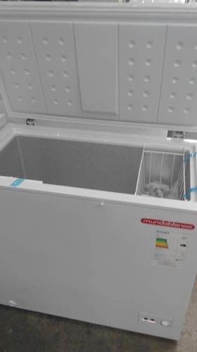 congelador (freezer) mundoblanco 200 litros nuevo, mbf-200l