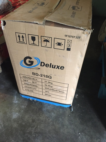 congelador gdeluxe 218 litro blanco