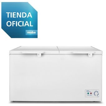 congelador horizontal 520 l blanco mabe - alaska520b2