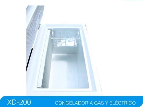 congelador horizontal a gas natural o propano