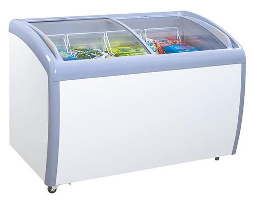 congelador horizontal daytron vidrio curvo (14p³) nueva caja